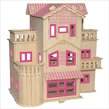 Legolar / 3D Yapbozlar / Yapboz Ünlü Binası / Çin Mimarisi / Ev Kendin-Yap 1pcs Çocuklar için Unisex Hediye
