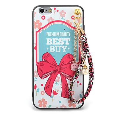Για Με σχέδια Ανάγλυφη Φτιάξτο Μόνος Σου tok Πίσω Κάλυμμα tok Λέξη / Φράση Λουλούδι Μαλακή TPU για AppleiPhone 7 Plus iPhone 7 iPhone 6s