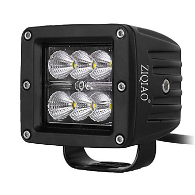 ziqiao 18W johti työvalo maastossa offroad lamput SUV led vene valo Ford F150 F250 kuorma traktori led-ajovalot lamppu