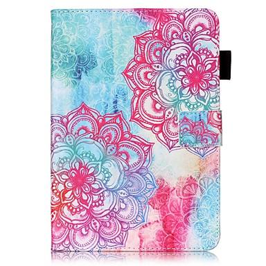 Pentru Carcase Huse Portofel Titluar Card Cu Stand Întoarce Model Corp Plin Maska Mandala Greu PU Piele pentru AppleiPad Mini 4 iPad Mini