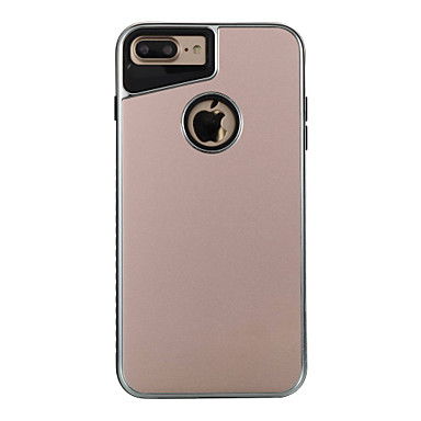 Na Galwanizowane Szron Kılıf Etui na tył Kılıf Jeden kolor Twarde Metal na AppleiPhone 7 Plus iPhone 7 iPhone 6s Plus iPhone 6 Plus