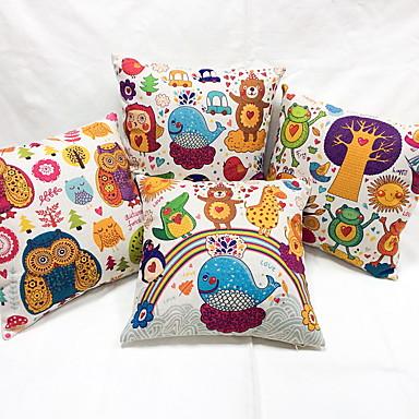 1 szt Bielizna sofa Poduszka Poduszka turystyczna Poduszka Body Pillow Poszewka na poduszkę Poduszka-Nowość, Wzór zwierzęcy Na co dzień