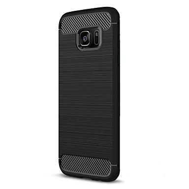 Kılıf Na Samsung Galaxy S7 edge S7 Other Czarne etui Solid Color Miękkie TPU na S7 edge S7 S6 edge S6