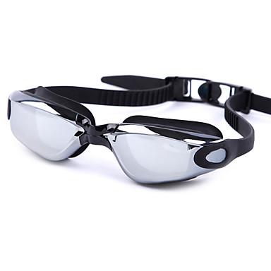 Okulary do pływania Anti-Fog Anti-Wear Regulowany rozmiar Anti-UV Odporny na zarysowania Szyba antywłamaniowa Regulowane boczne klocki
