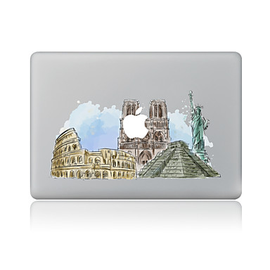 1 piesă Acțibilduri pentru Rezistent la Zgârieturi Decor Model PVC MacBook Pro 15'' with Retina MacBook Pro 15 '' MacBook Pro 13'' with