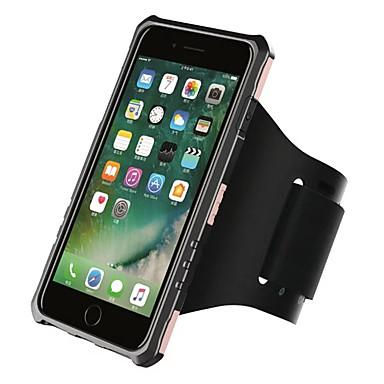 من أجل إفون 8 iPhone 8 Plus أغط / كفرات ربطة الذراع حزام اليد غطاء لون الصلبة قاسي PC إلى Apple iPhone 8 Plus iPhone 8 فون 7 زائد فون 7