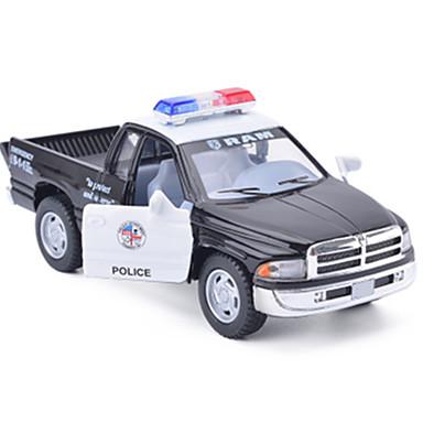 De Automatique Unisexe Cadeau Jouet Police Modèle Garçon Petites Camion Voiture Simulation Fille 3RjL54Aq