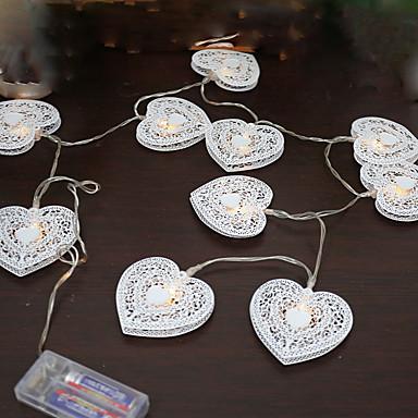 1 قطع 5 فولت 1.2 متر 10 المصابيح الدافئة الأبيض عطلة الديكور الزخرفية أدى سلسلة أضواء