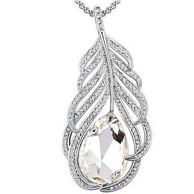 Damskie Naszyjniki z wisiorkami Kryształ Unikalny Modny euroamerykańskiej Biżuteria Na Ślub Impreza Urodziny