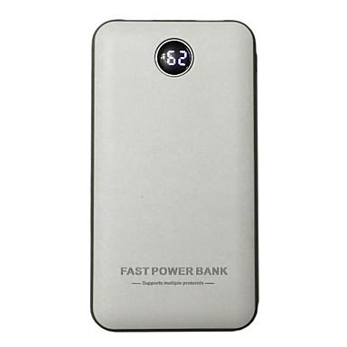 Τράπεζα ισχύς εξωτερική μπαταρία 5/2.4 9/2V #A Φορτιστής μπαταρίας Πολλαπλοί έξοδοι LED