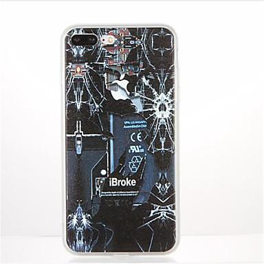 Na Wzór Kılıf Etui na tył Kılıf Kreskówka Miękkie TPU na Apple iPhone 7 Plus iPhone 7 iPhone 6s Plus iPhone 6 Plus iPhone 6s iphone 6