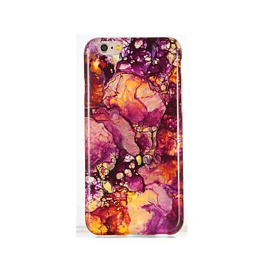 Na IMD Wzór Kılıf Etui na tył Kılıf Marmur Miękkie TPU na AppleiPhone 7 Plus iPhone 7 iPhone 6s Plus iPhone 6 Plus iPhone 6s iphone 6