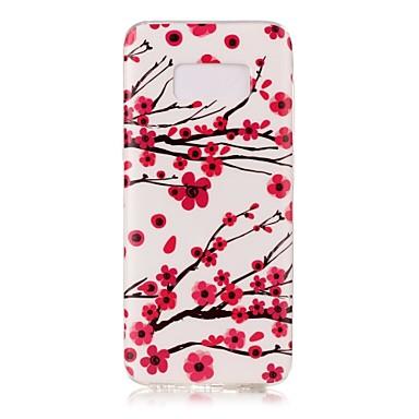 tok Για Samsung Galaxy S8 Plus S8 Λάμπει στο σκοτάδι IMD Με σχέδια Πίσω Κάλυμμα Λουλούδι Μαλακή TPU για S8 S8 Plus S7 edge S7 S6 edge S6