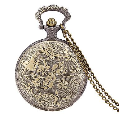 JUBAOLI Męskie Zegarek kieszonkowy Kwarcowy / Stop Pasmo Na co dzień Bronz