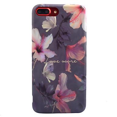 Na IMD Wzór Kılıf Etui na tył Kılıf Kwiat Miękkie TPU na Apple iPhone 7 Plus iPhone 7 iPhone 6s Plus iPhone 6 Plus iPhone 6s iphone 6