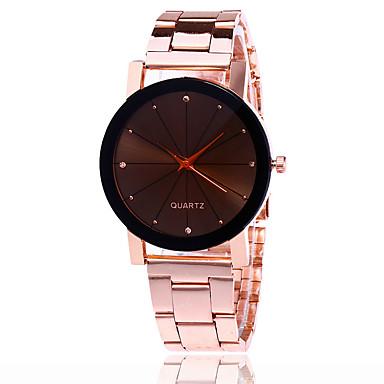 Damen Einzigartige kreative Uhr Armbanduhr Kleideruhr Modeuhr Armbanduhren für den Alltag Chinesisch Quartz Schlussverkauf Legierung Band
