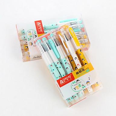 Gel Pen Długopis Pióra żelowe Długopis,Plastik Beczka Niebieski Atrament Kolory For Przybory szkolne Artykuły biurowe Paczka