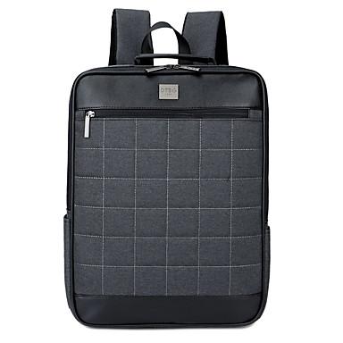 نايلون الأعمال التجارية لون الصلبة حقائب ظهر 15