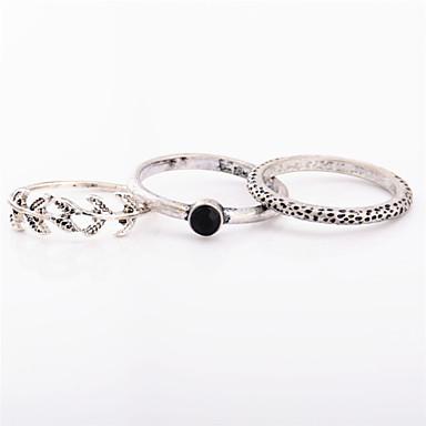 للمرأة خاتم مجوهرات مخصص موضة euramerican في كروم غير منتظم الحلقات من أجل يوميا فضفاض هدايا الزفاف
