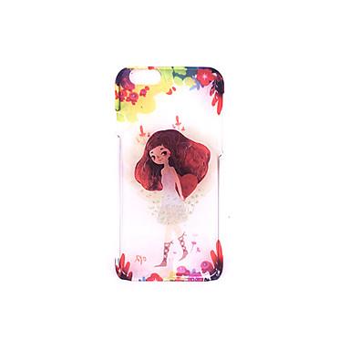 غطاء من أجل Apple مثلج مطرز نموذج غطاء خلفي امرآة مثيرة قاسي PC إلى فون 7 زائد فون 7 iPhone 6s Plus iPhone 6 Plus iPhone 6s أيفون 6
