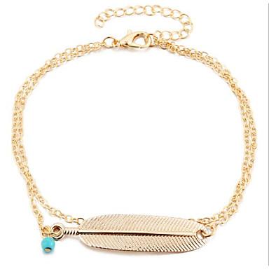 Kadın's Vücut Mücevheri Bacak Zincirleri Vintage alaşım Mücevher Uyumluluk Günlük