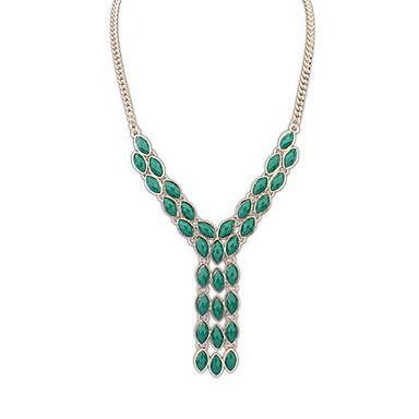 Kadın's Y Salkım Mücevher Mücevher Değerli Taş alaşım Moda Euramerican Mücevher Uyumluluk Parti Özel Anlar