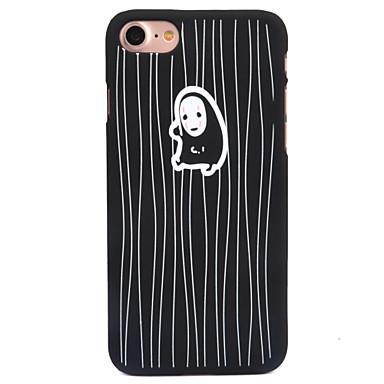 من أجل إفون 8 iPhone 8 Plus أغط / كفرات مثلج نموذج غطاء خلفي غطاء كارتون قاسي PC إلى Apple iPhone 8 Plus iPhone 8 فون 7 زائد فون 7 iPhone