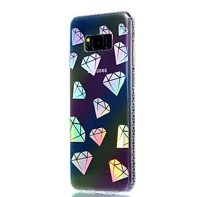 hoesje Voor Samsung Galaxy S8 Plus S8 Beplating Doorzichtig Patroon Achterkantje Geometrisch patroon Zacht TPU voor S8 S8 Plus S7 edge S7