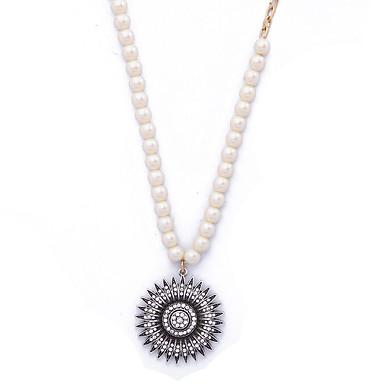 Pentru femei Coliere cu Pandativ Cristal Personalizat Euramerican Floral Bijuterii Pentru Nuntă Petrecere