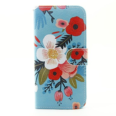 Kılıf Na Samsung Galaxy J5 (2016) Portfel Etui na karty Z podpórką Flip Futerał Kwiaty Twarde Sztuczna skóra na J5 (2016) J5 J1 (2016)