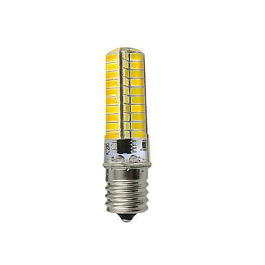 4W 144lm E17 Żarówki LED kukurydza T 80 Koraliki LED SMD 5730 Dekoracyjna Ciepła biel Zimna biel 110-120V 12V