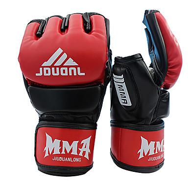 قفازات الملاكمة قفازات تمرين الملاكمة قفازات ملاكمة الحقيبة إلى الملاكمة الملاكمة التايلندية Fingerless الدفء تصميم تشريحي نفاذيه الرطوبة