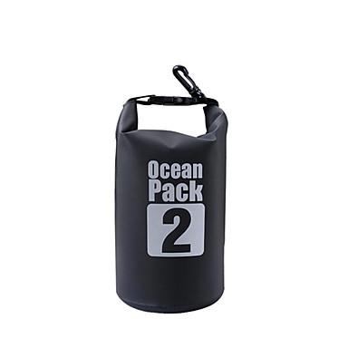 2 L Rezistent la apa Dry Bag Geantă Uscată Impermeabil pentru Alpinism Înot Plajă Camping & Drumeții
