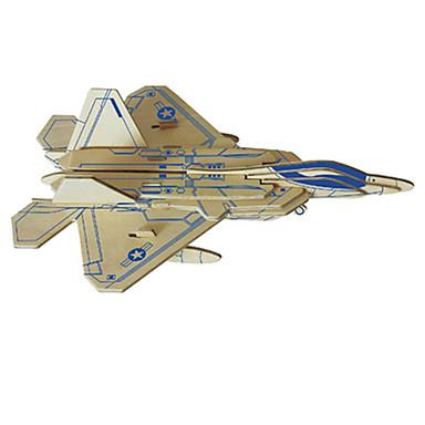 3D - Puzzle Holzmodell Modellbausätze Spielzeuge Flugzeug Holz Unisex Stücke