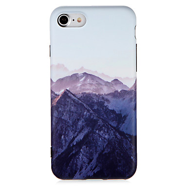hoesje Voor Apple iPhone 7 Plus iPhone 7 Patroon Achterkant Landschap Zacht TPU voor iPhone 7 Plus iPhone 7 iPhone 6s Plus iPhone 6s