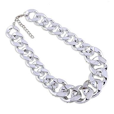 Kadın's Zincir Kolyeler Kristal Moda Kişiselleştirilmiş sevimli Stil Euramerican Mücevher Için Düğün Parti 1pc