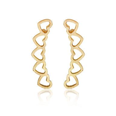 Vidali Küpeler Mücevher Moda Kişiselleştirilmiş Euramerican Altın Gümüş Mücevher Için Düğün Parti Doğumgünü 1 çift