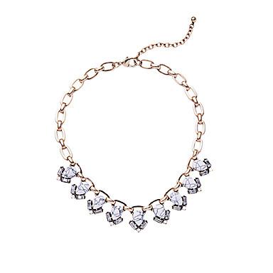 Pentru femei Toroane Coliere Geometric Shape Design Unic Alb Bijuterii Pentru Zilnic 1 buc