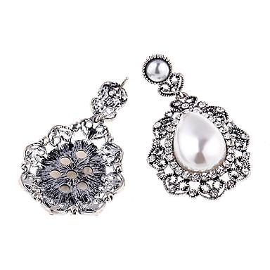 Kolczyki na sztyft Kryształ Unikalny Osobiste euroamerykańskiej Stop Gold Silver Biżuteria Na Ślub Impreza 1 para