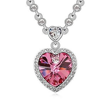 Damskie Naszyjniki z wisiorkami Biżuteria Biżuteria Kamień szlachetny Stop Unikalny Słodkie Style Purple Różowy Light Blue Biżuteria Na