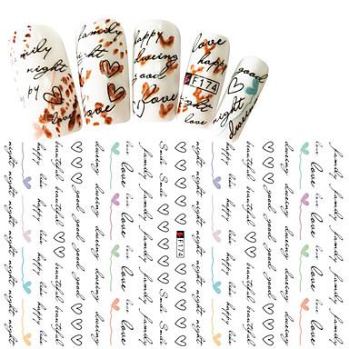 1 Nagel-Kunst-Aufkleber 3D Nails Nagelaufkleber Make-up kosmetische Nagelkunst Design