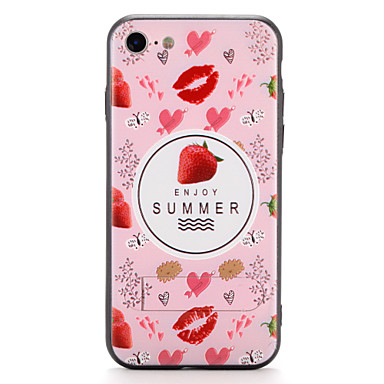 tok Για Apple iPhone 7 Plus iPhone 7 με βάση στήριξης Πίσω Κάλυμμα Φρούτα Σκληρή PC για iPhone 7 Plus iPhone 7 iPhone 6s Plus iPhone 6s