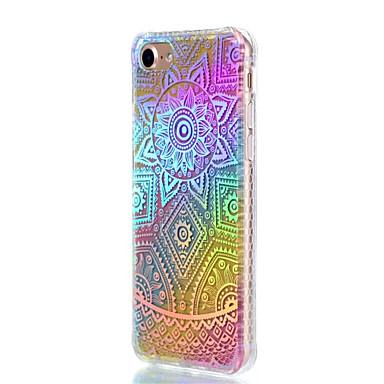Für Apfel iphone 7 plus 7 Fallabdeckung shockproof Überzug lichtdurchlässiges Muster rückseitige Abdeckungsspitze