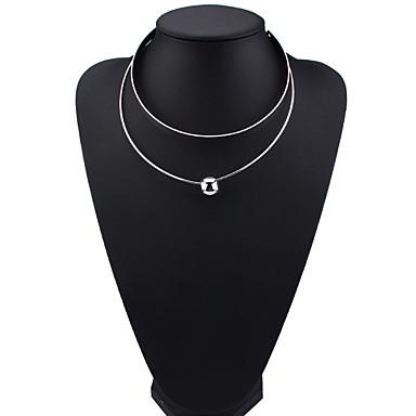 Γυναικεία Κρεμαστά Κολιέ Κοσμήματα Κοσμήματα Πετράδι Κράμα Μοντέρνα Euramerican Κοσμήματα Για Πάρτι