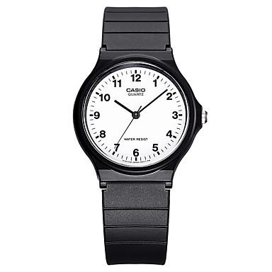 Casio Heren Voor Stel Sporthorloge Modieus horloge Japans Kwarts Waterbestendig Rubber Band Vrijetijdsschoenen Zwart