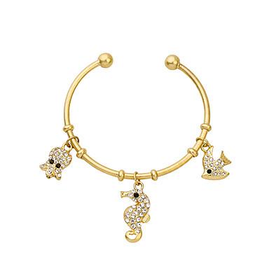 Kadın's Halhallar Arkadaşlık Moda alaşım Animal Shape Mücevher Için 1pc