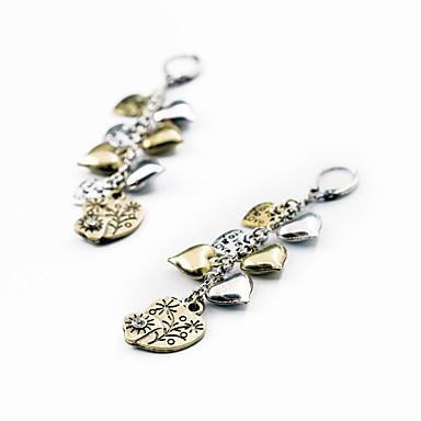 Kadın's Halka Küpeler Kristal Çok güzel Kişiselleştirilmiş sevimli Stil Euramerican Mücevher Uyumluluk Düğün Parti Doğumgünü