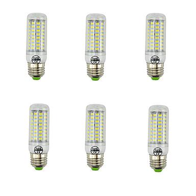 7W E27 LED-maïslampen T 89 leds SMD 5730 Decoratief Warm wit Koel wit 600lm 2700/6500K AC 220-240V