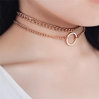 Damen Anderen Personalisiert Modisch Euramerican Halsketten Schmuck Aleación Halsketten . Besondere Anlässe Alltag Normal