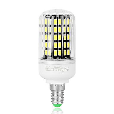 6W 480 lm E14 LED-maissilamput T 108 ledit SMD 5733 Kylmä valkoinen AC 220-240V